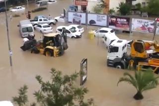 Manavgat záplavy