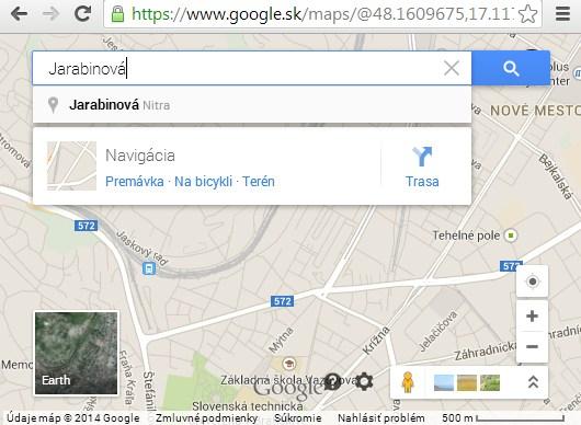 Google Mapy 2014