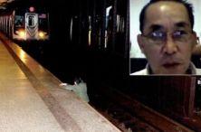 Muž v metre