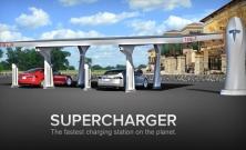 Nabíjanie elektromobilov Tesla