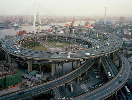 Nanpu most Šanghaj