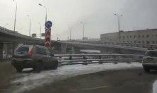 Nehody v Rusku, šialená situácia na cestách