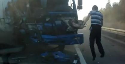 Šialená nehoda v Rusku