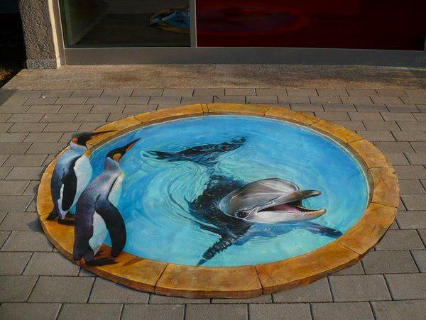 Nikolaj Arndt a umenie na chodníku