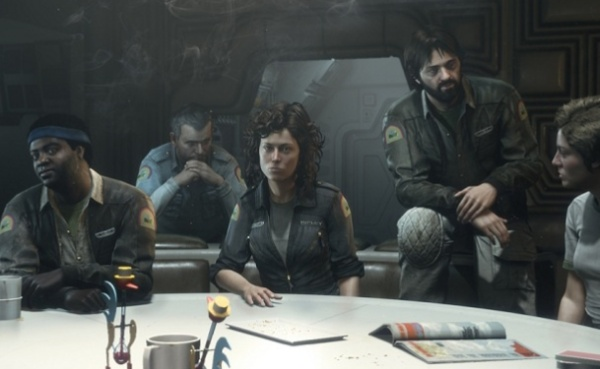 Nostromo Crew Alien Isolation