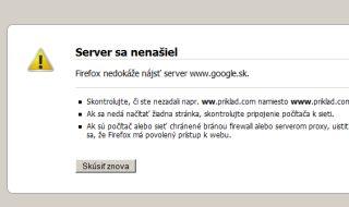 Internet je offline
