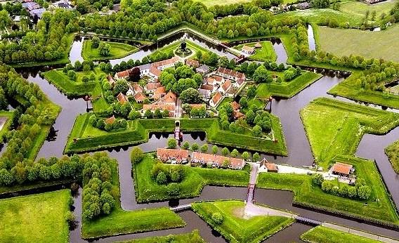 Pevnosť Bourtange - foto Wikipedia