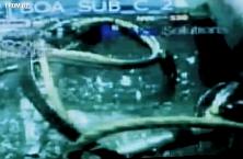 Zábery z ponorky pri zabraňovaní úniku ropy do Mexického zálivu
