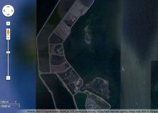 Ostrov Poplar, Google Maps